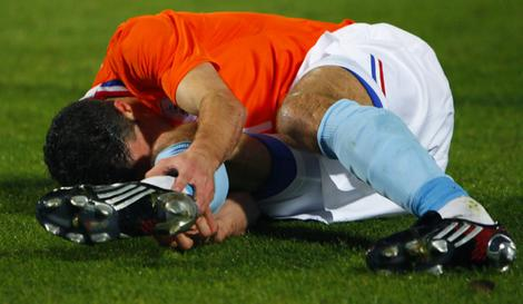 van persie latest injury