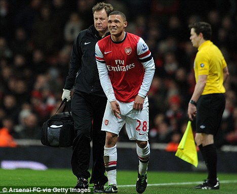 An injured Gibbs