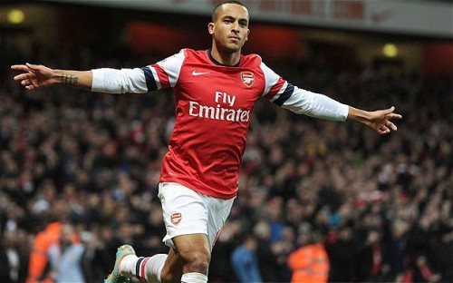 Theo the winger has a future at Emirates